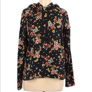 Laundry by Shelli Segal floral hoodie